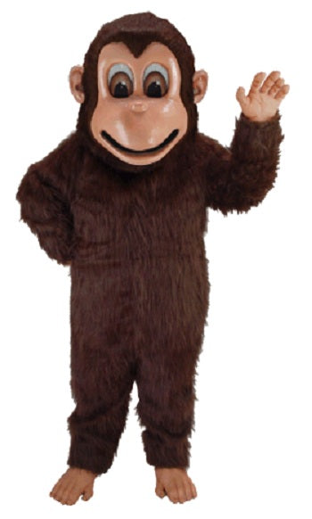 T0174 Brown Monkey Mascot Costume (Thermolite)