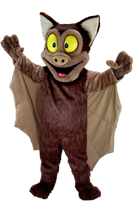 T0190 Brown Bat Mascot Costume (Thermolite)