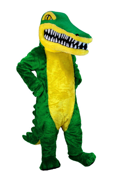 T0203 Crocodile Mascot Costume (Thermolite)