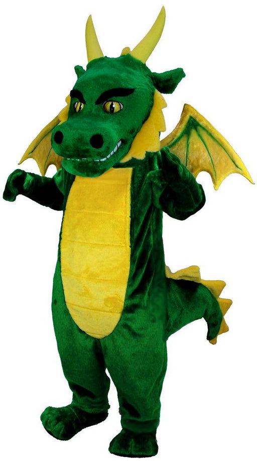 T0211 Green Dragon Mascot Costume (Thermolite)