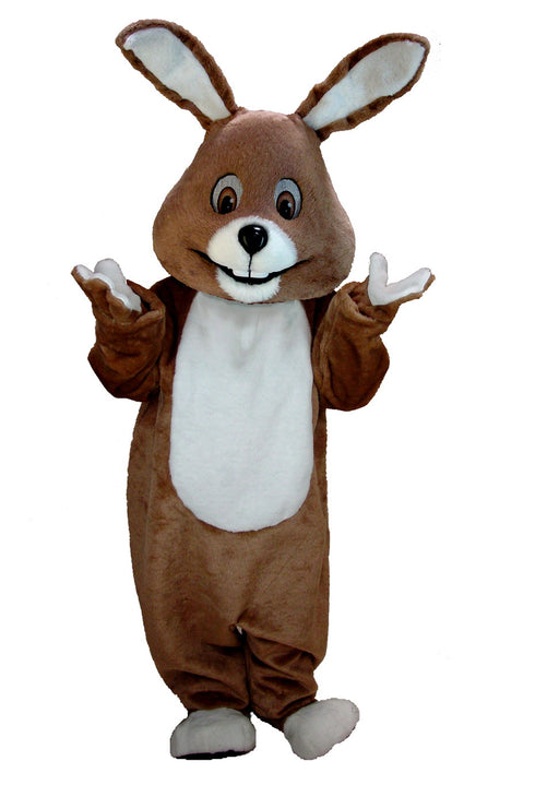T0224 Brown Bunny Mascot Costume (Thermolite)