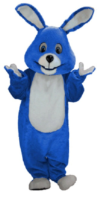 T0225 Royal Blue Bunny Mascot Costume (Thermolite)