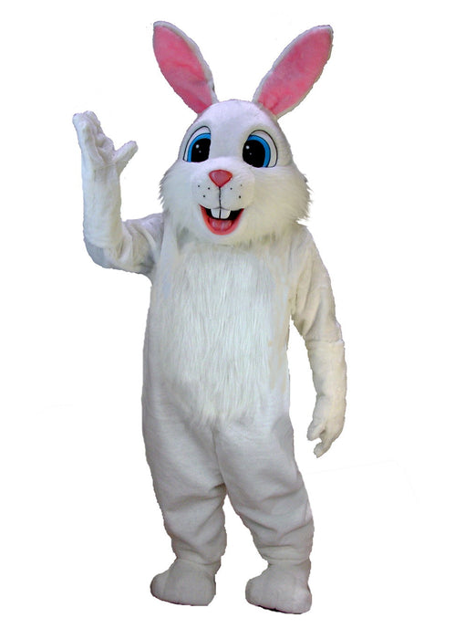 T0226 White Rabbit Mascot Costume (Thermolite)