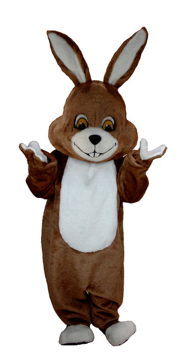 T0229 Brown Rabbit Mascot Costume (Thermolite)