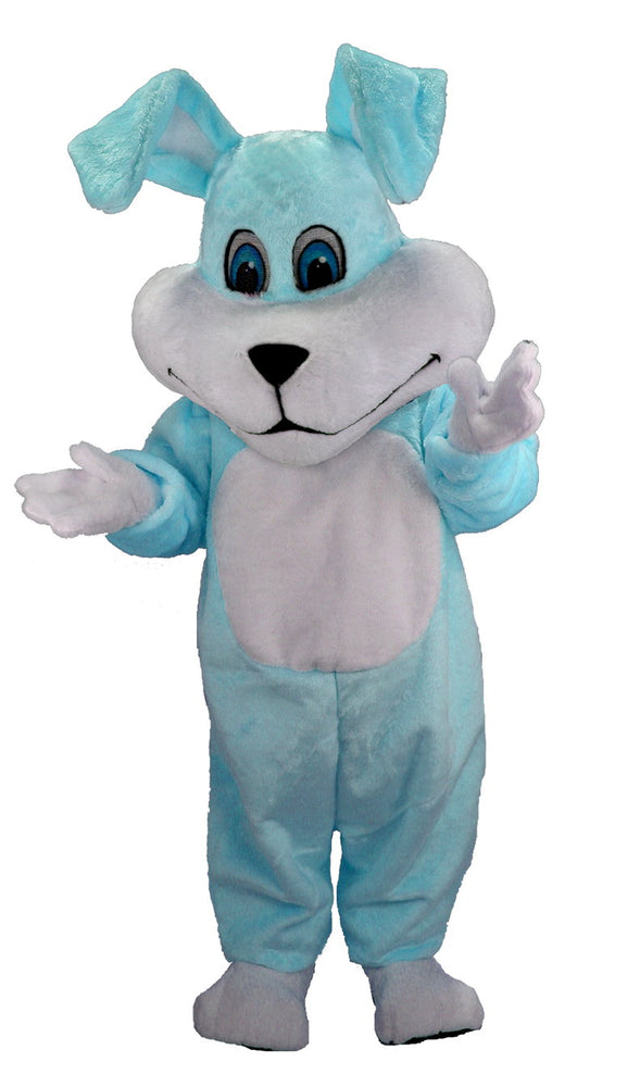 T0230 Super Blue Rabbit Mascot Costume (Thermolite)