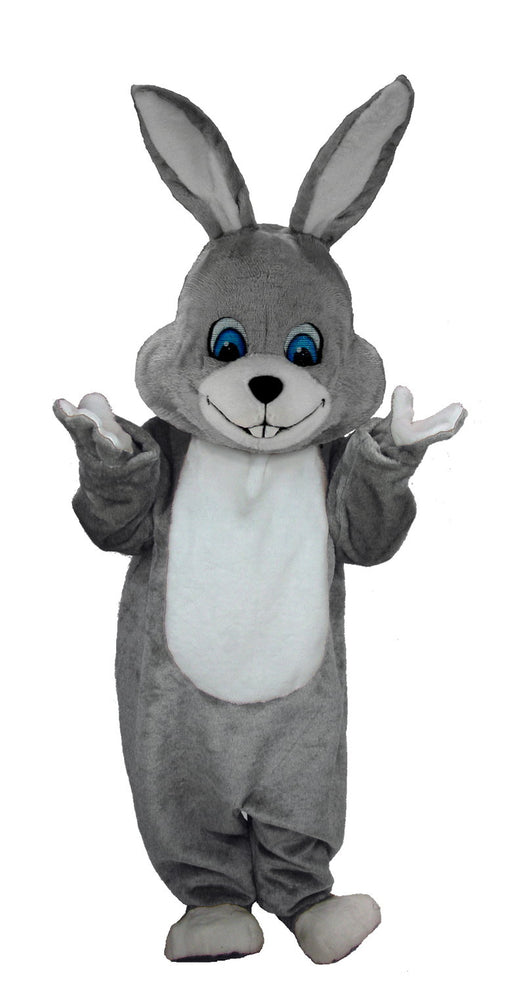T0231 Grey Rabbit Mascot Costume (Thermolite)