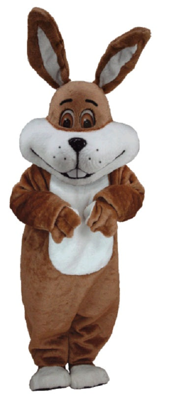 T0240 Super Brown Rabbit Mascot Costume (Thermolite)