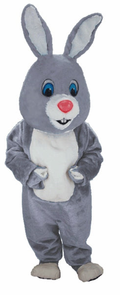 T0249 Light Grey Rabbit Mascot Costume (Thermolite)