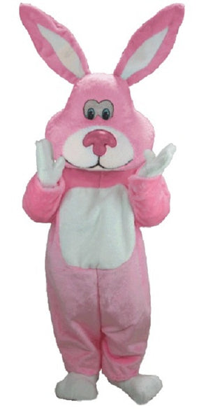 T0256 Pink Cottontail Rabbit Mascot Costume (Thermolite)