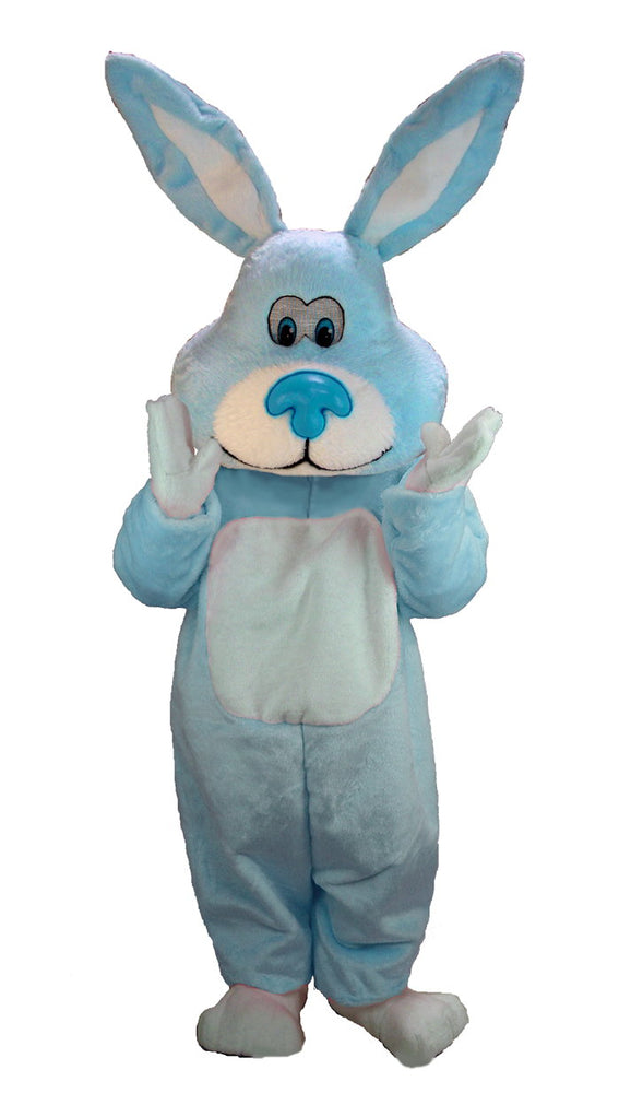T0257 Blue Cottontail Rabbit Mascot Costume (Thermolite)