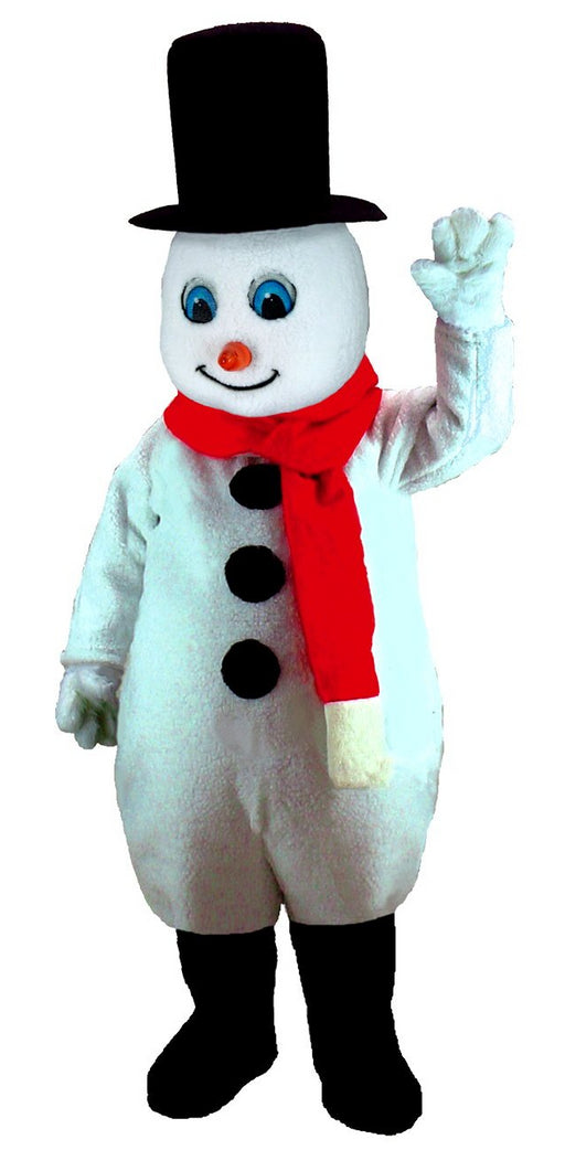 T0259 Mr. Snowman Mascot Costume (Thermolite)