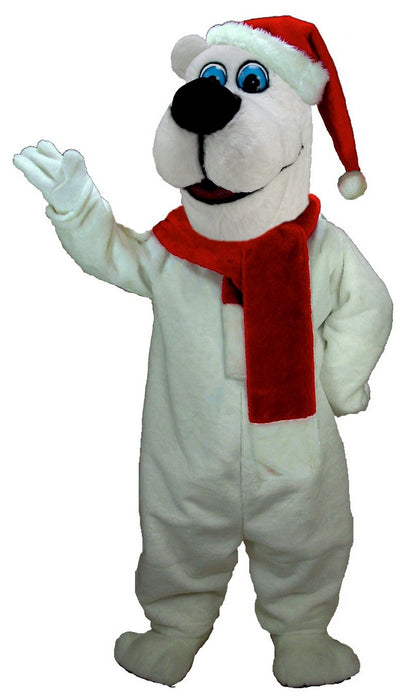T0268 Christmas Bear Mascot Costume (Thermolite)