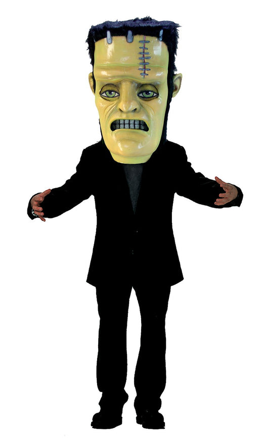 T0271 Frankenstein Monster Head Mascot Costume (Thermolite)