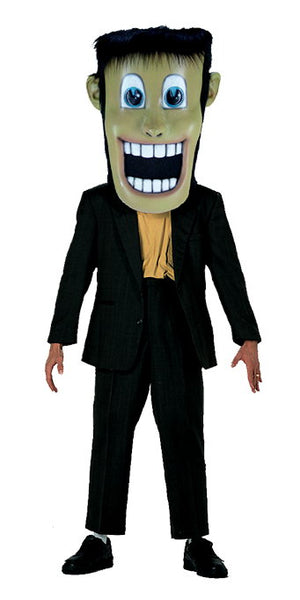 T0272 Happy Frankenstein Head Mascot Costume (thermolite)
