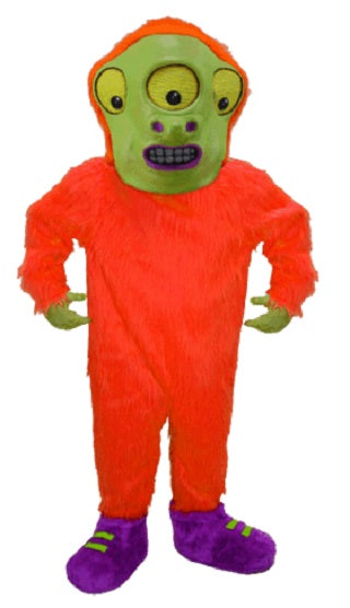 T0277 Toon Alien Mascot Costume (Thermolite)