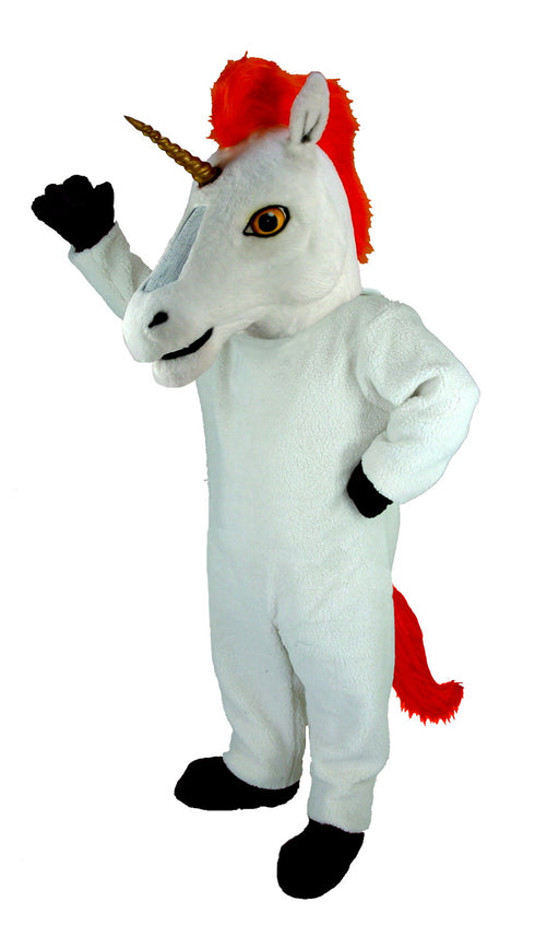 T0284 Unicorn Mascot Costume (Thermolite)