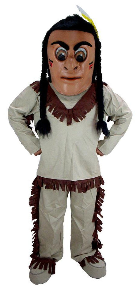 T0301 Indian Mascot Costume (Thermolite)