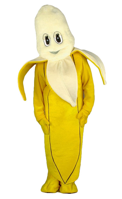 Banana Costume - Plush Mascot