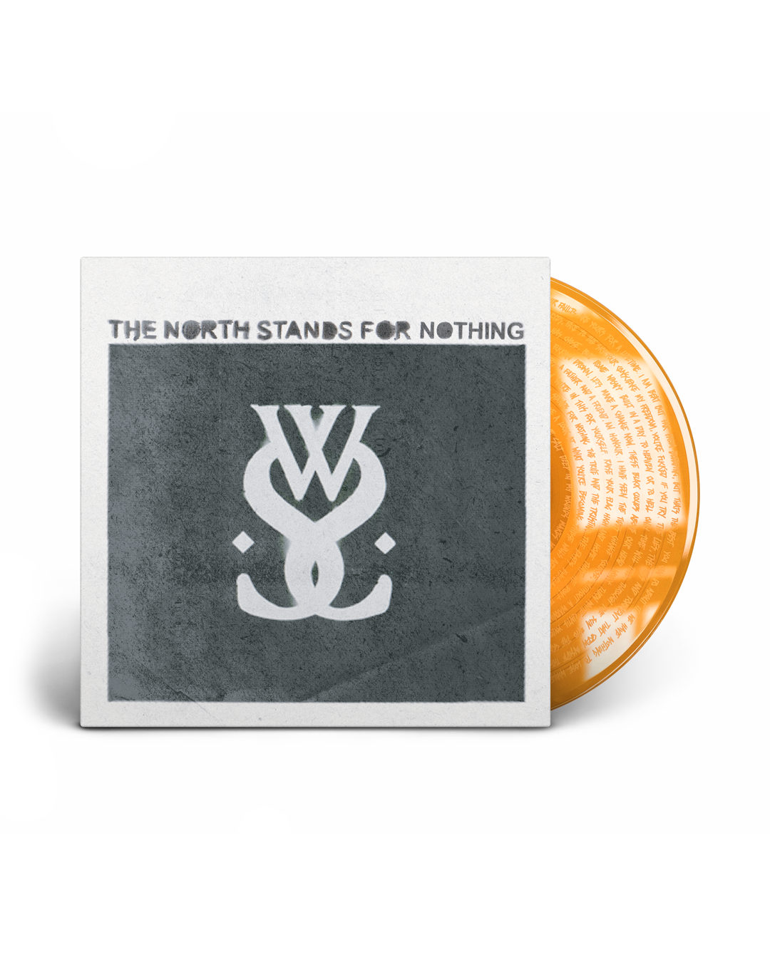 THE NORTH STANDS FOR NOTHING VINYL ORANGE