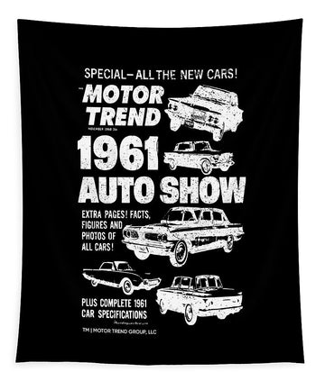 1961 Auto Show - Tapestry