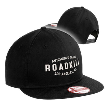 Roadkill Automotive Chaos Hat - White Design