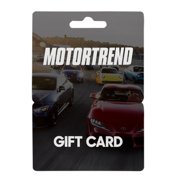 MotorTrend Store e-Gift Card - $25