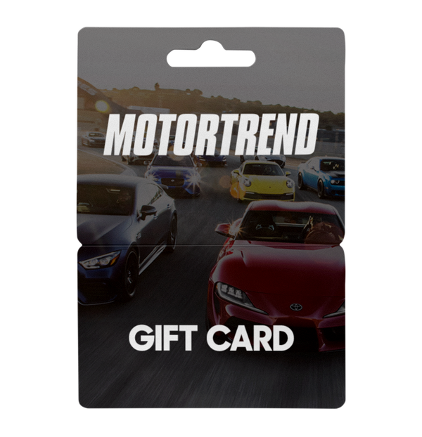 MotorTrend Store Gift Card - $25