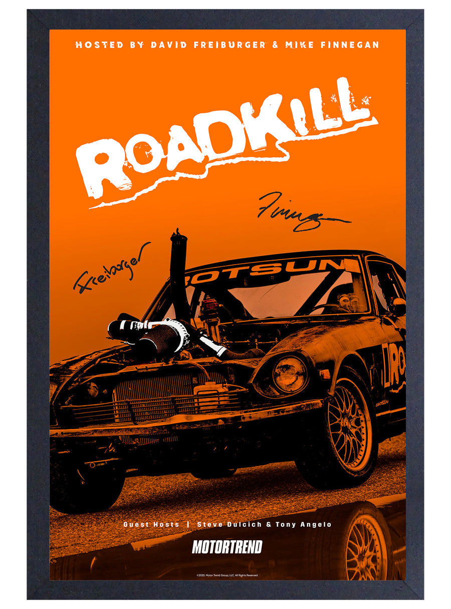 Roadkill – Rotsun Gel Print (with signatures)