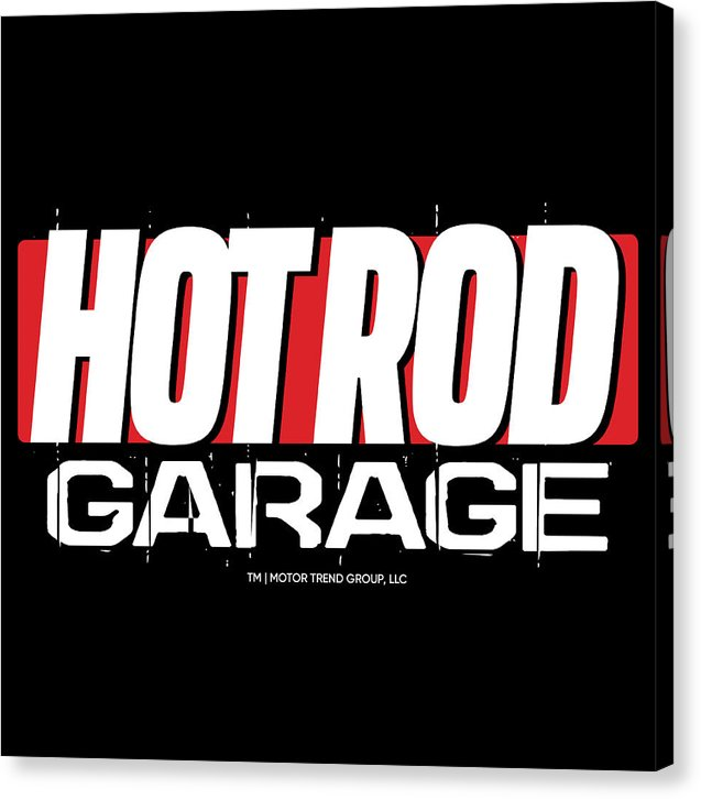 Hot Rod Garage - Canvas Print