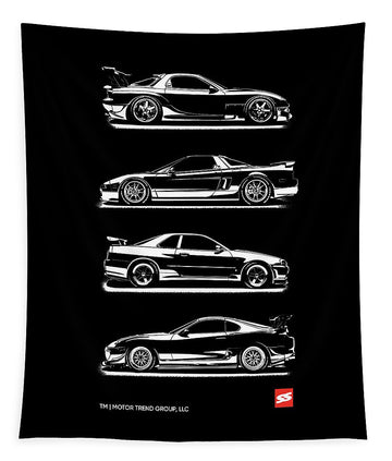 JDM Legends - Tapestry
