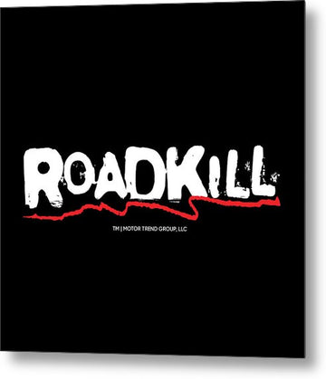 Roadkill Logo - Metal Print