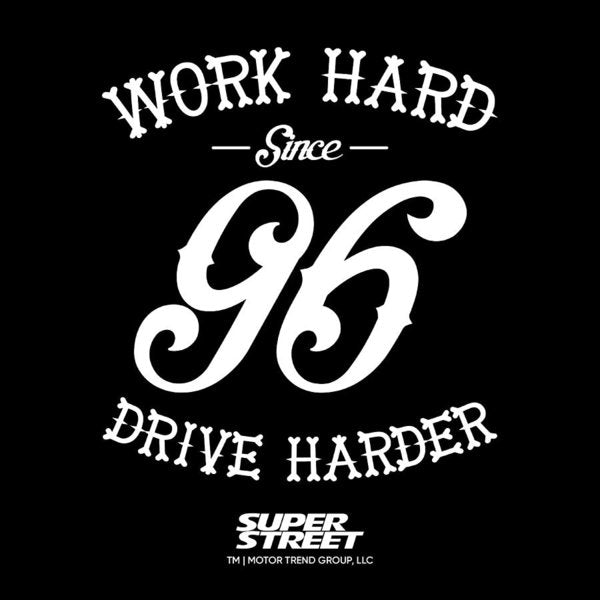 Work Hard 96 - Art Print