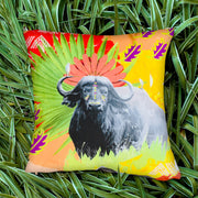 Charming Buffalo Explorer Cushion Cover
