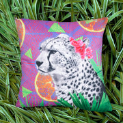 Citrus Cheetah Explorer Cushion Cover