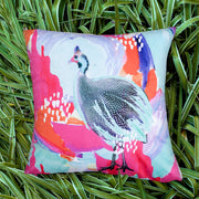 Optimistic Guinea Fowl Explorer Cushion Cover
