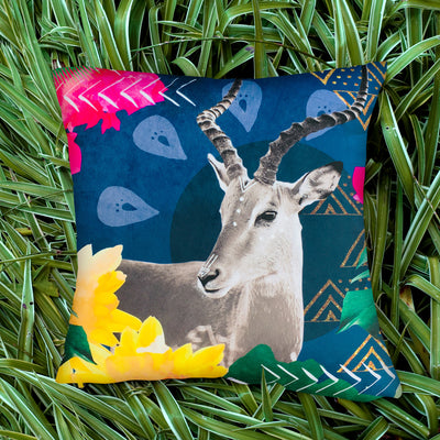 Midnight Impala Explorer Cushion Cover