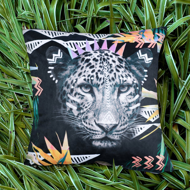 Fierce Leopard Explorer Cushion Cover