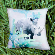 Holiday Rhino Explorer Cushion Cover