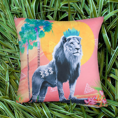 Stand Tall Simba Explorer Cushion Cover