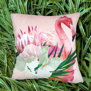 Floral Flamingo Explorer Cushion Cover