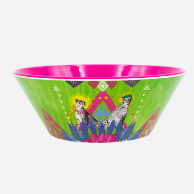 Festive Cheetah Adventure Bowl