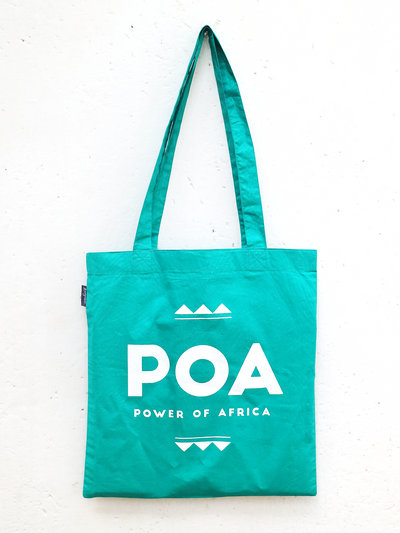 Turquoise POA Tote