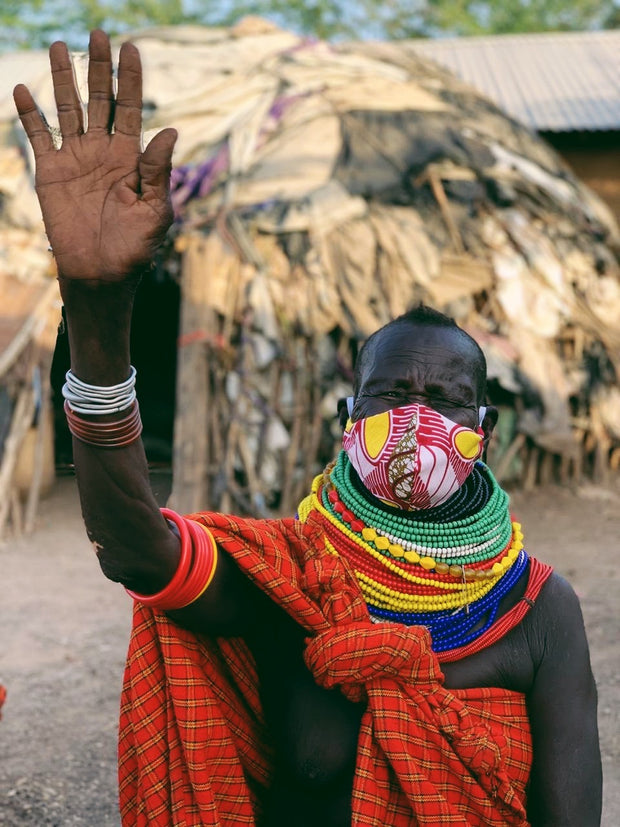 Donate 5 Masks for the Refugees of Kakuma Camp, Kenya