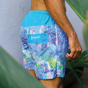 Unisex shorts with Adventure Meerkat Print