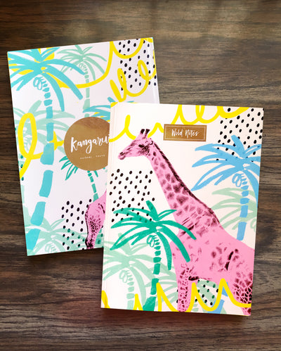 Summertime Giraffe Notebook