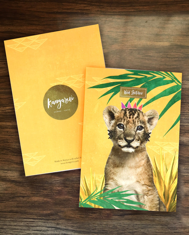 Curious Simba Notebook