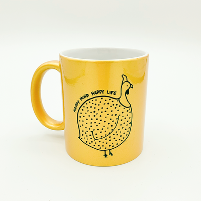 Happy Mind Happy Life Sunshine Mug