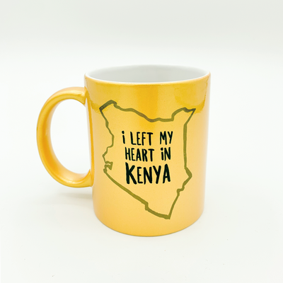 I Left My Heart in Kenya Sunshine Mug