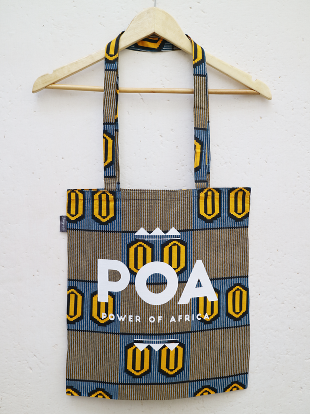 Yellow x Blue POA Tote