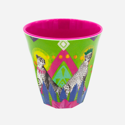 Festive Cheetah Adventure Tumbler